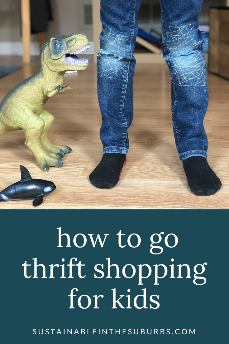 Thrift Shopping for Kids